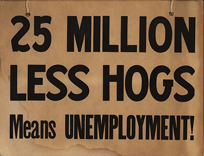 25 Million Less Hogs Means Unemployment!
